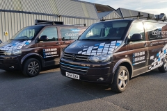 Dallimore Ceilings Vehicle Graphics