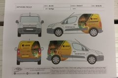 JB-Eye van wrapping design