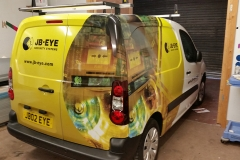 JB-Eye van wrapping complete