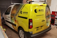 JB-Eye van wrapping complete2