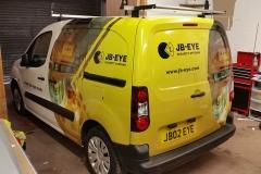 JB-Eye van wrapping complete2