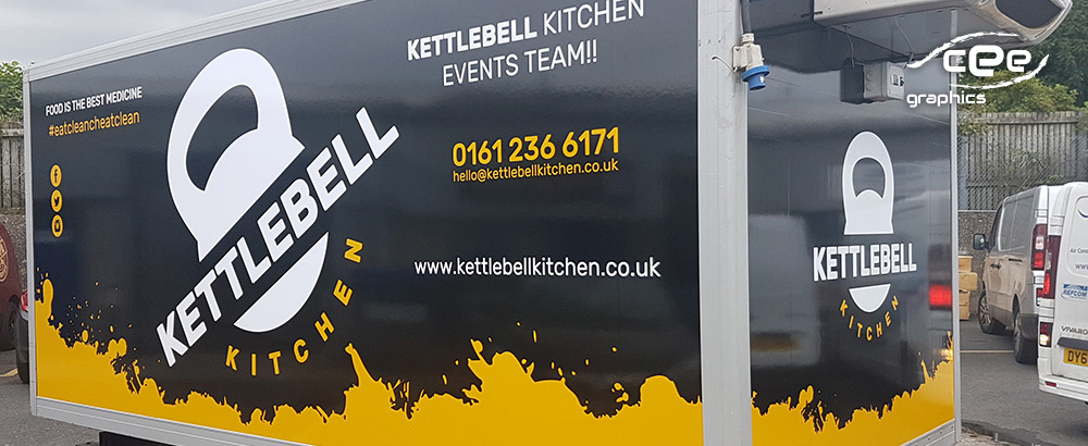 Kettlebell Kitchen – Design, Signage, Wrapping and more