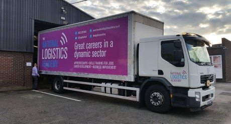 TLA lorry rigid trailer signs