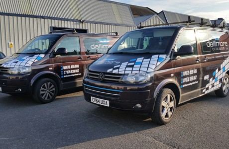 Dallimore-Ceilings-Vehicle-Graphics